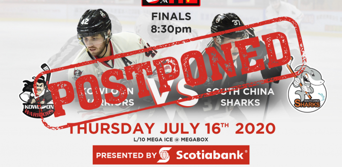 CIHL championship game postponed due to COVID-19