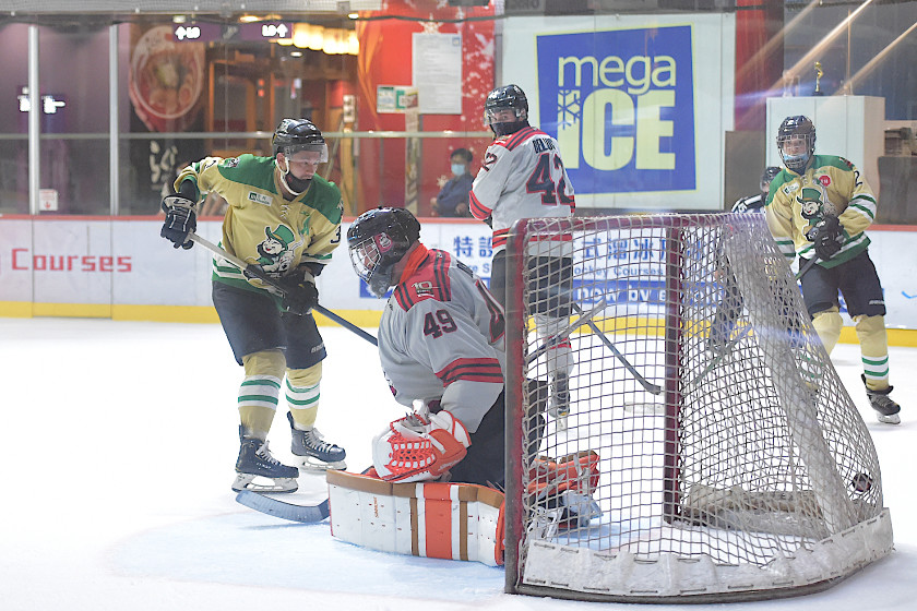 Olsen's Five Goal Night Propels Aces to Victory