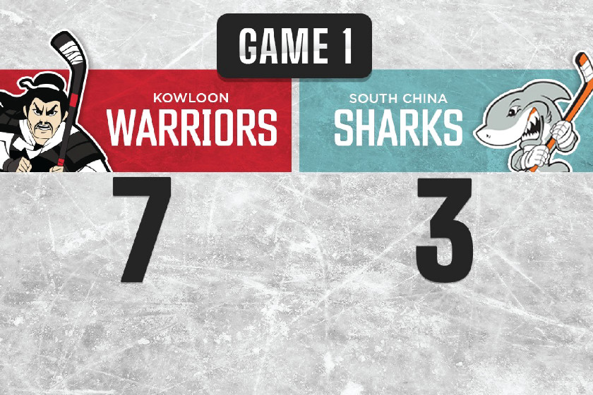 Warriors End Season With a 7-3 Victory Over Sharks