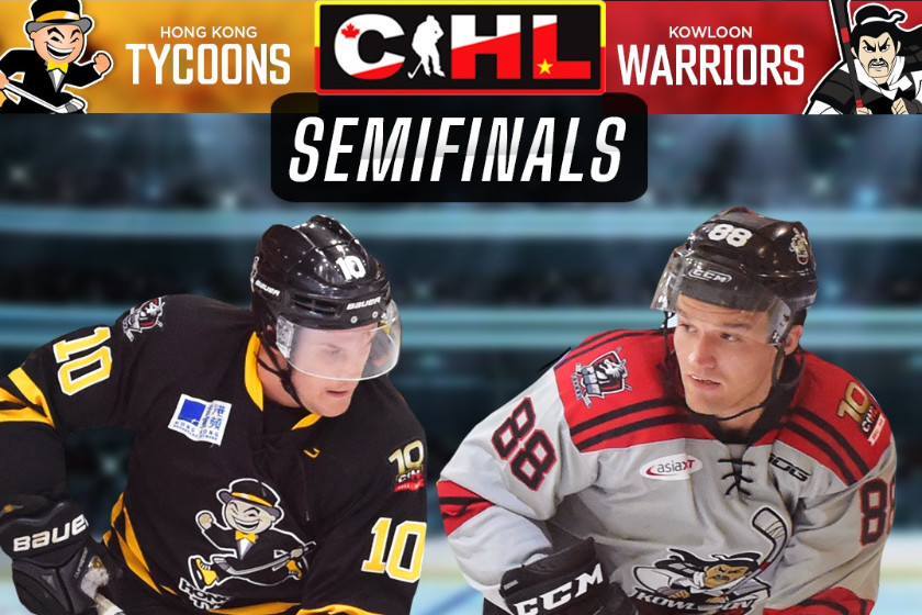 CIHL Semi-Finals is Here, Warriors vs Tycoons!