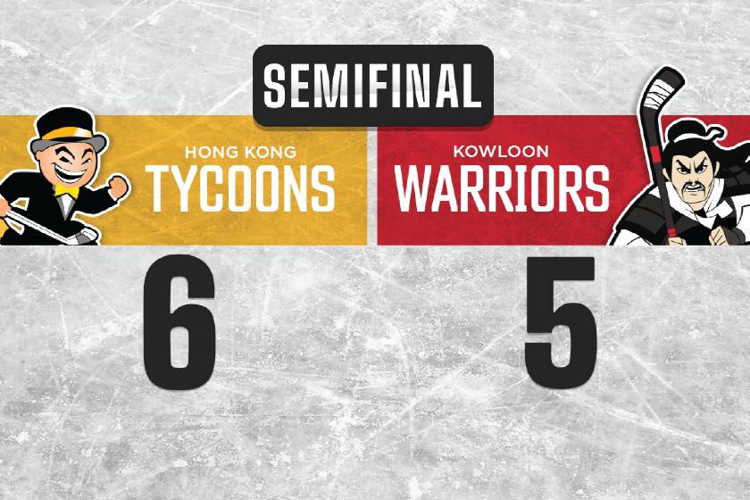 Tycoons Book their Ticket to the CIHL Finals!