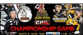 CIHL Championship Game - The Battle for the Quam Cup